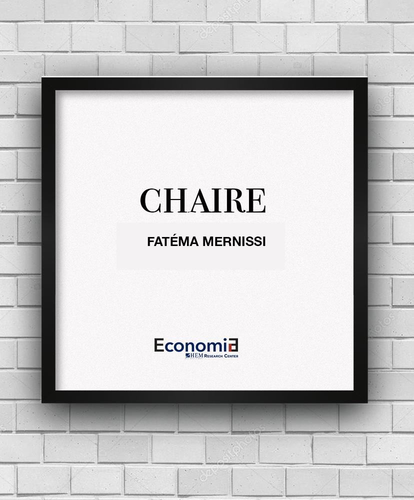 Chaire Fatéma Mernissi